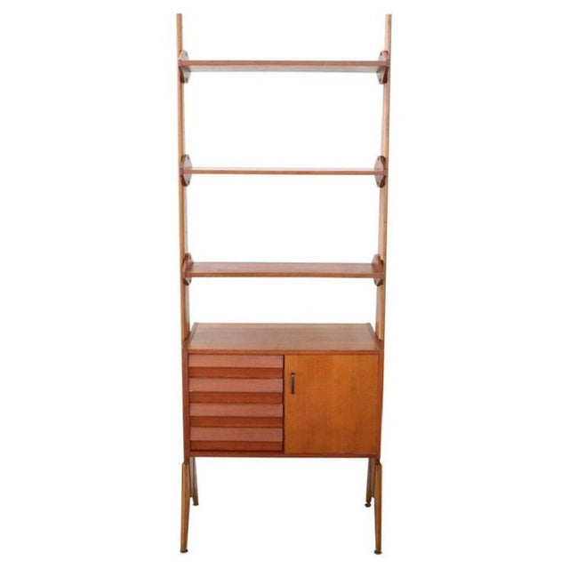 20th Century Italian Vintage Design Bookcase, 1970s For Sale - Image 11 of 11