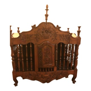 18th Century Walnut Panetiere For Sale