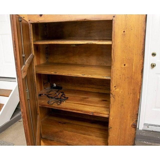 Ralph Lauren Monumental Ralph Lauren for Henredon Pine Cabinet For Sale - Image 4 of 11