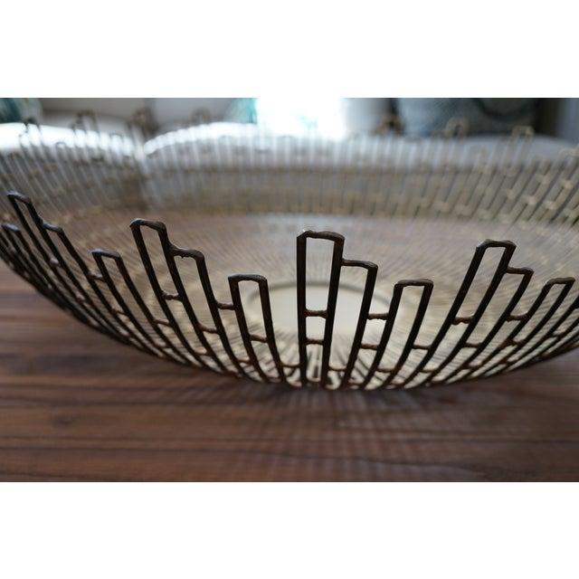 Crate & Barrel Starburst Bowl - Image 4 of 4