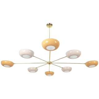 Stilnovo Style Sputnik Chandelier For Sale