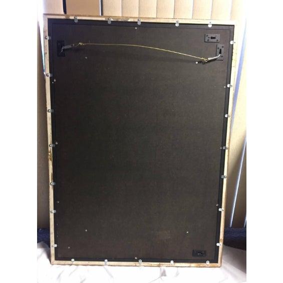 Burl Malachite Veneered Mirror For Sale In Los Angeles - Image 6 of 7