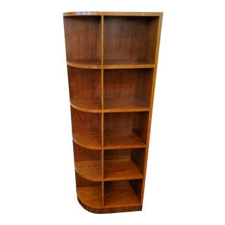 1930s French Deco Side Bookcase For Sale