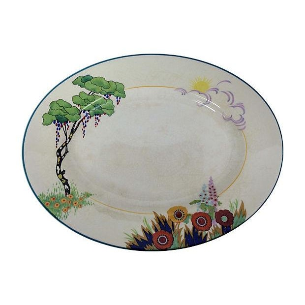 Art Deco English Platters - Pair - Image 2 of 3