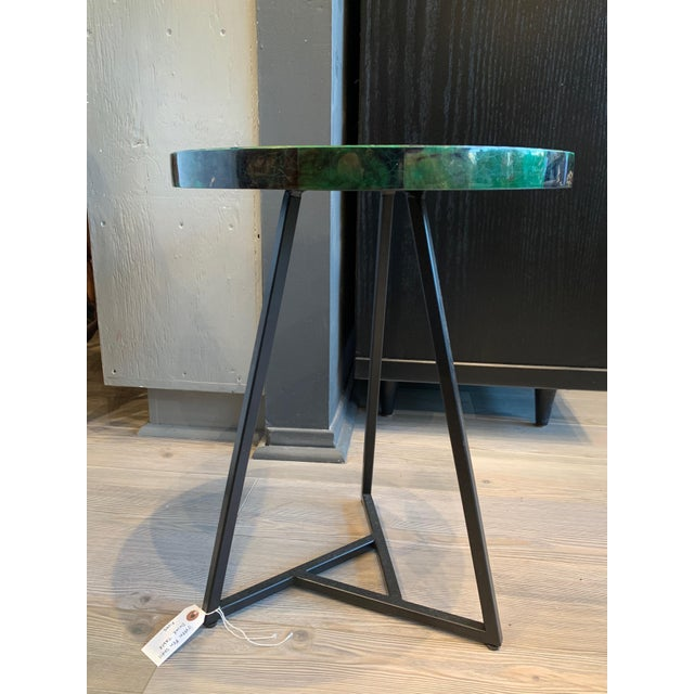 Green with Envy! You will love this pop art - inspired Cyrano accent table. A scaled-down tripod side table - it is...