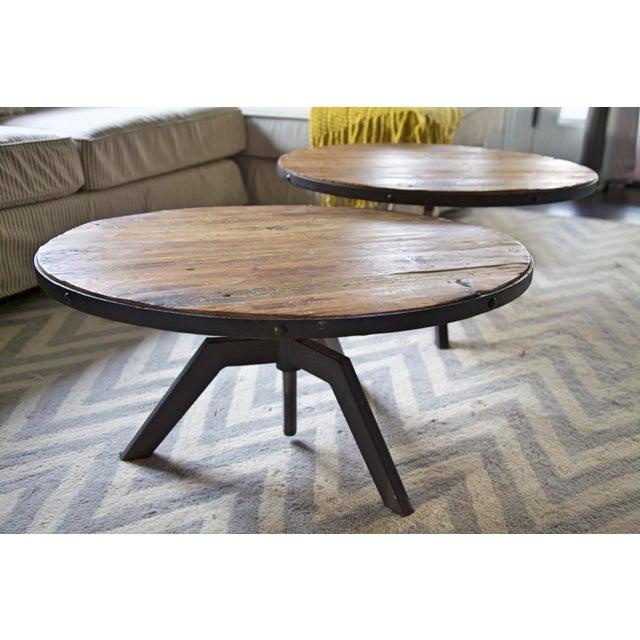 Rustic Modern Coffee Table - Image 3 of 5