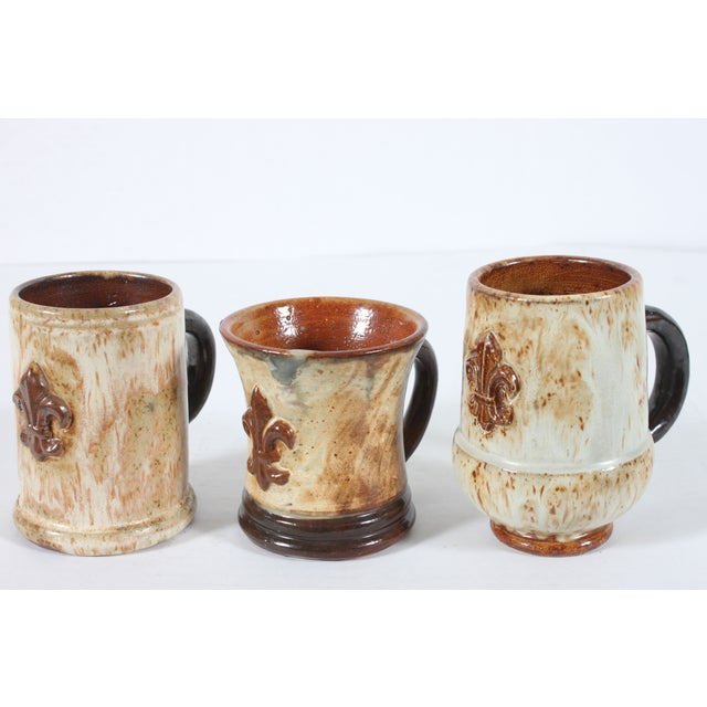 Belgium Mugs By Guerin Pottery - Set of 3 - Image 2 of 5