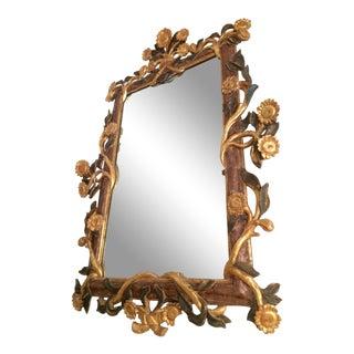 Gilt Italian Sunflower Mirror