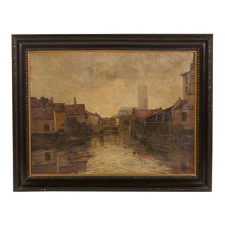 Early 19th Century Vintage Painting For Sale