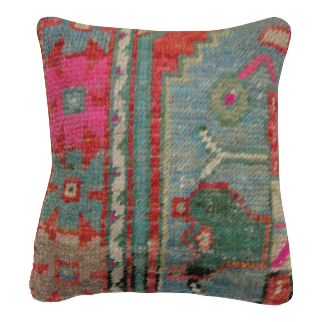 Boho Chic Rug Pillow - Image 1 of 3