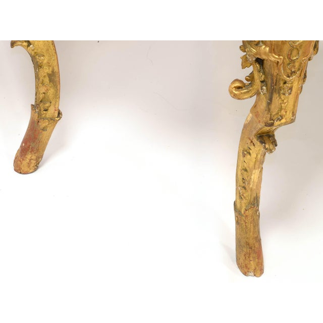 Regency Console in Wood and Marble, French, XVIII Century For Sale - Image 9 of 11