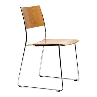 Dietiker Tila Dining Chair in Oak Wood Designed by Christoph Hindermann For Sale