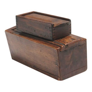 Two 19th Century Slide Top Boxes For Sale
