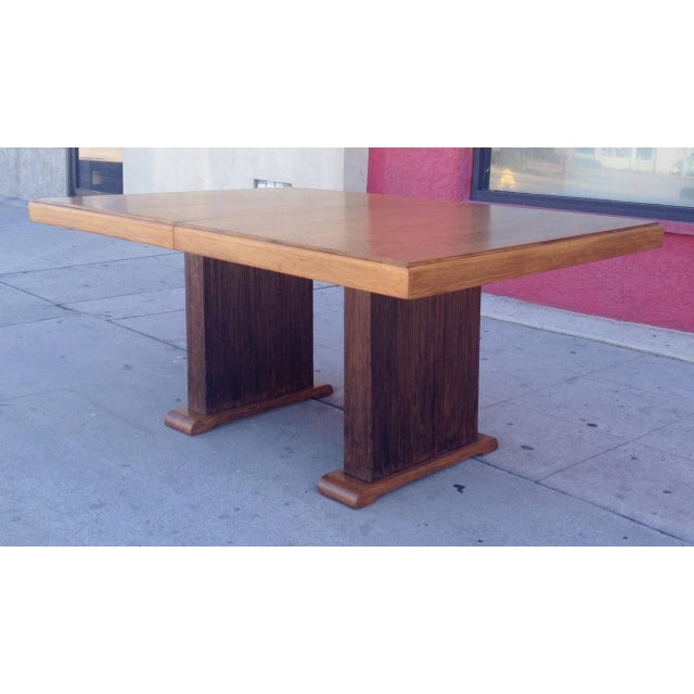 Paul Frankl Dining Table with Original Finish - Image 3 of 7