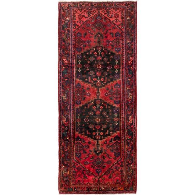 "Vintage Hamadan Persian Rug - 4'6"" X 10'10"" - Image 1 of 2"