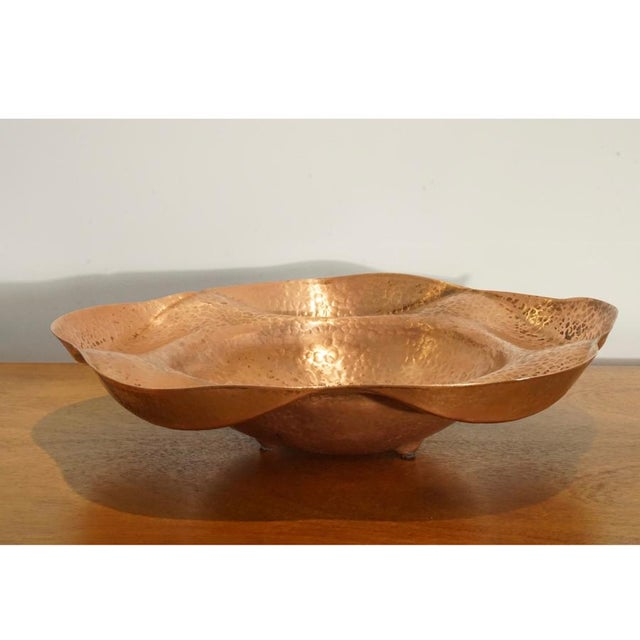 Hand Hammered Copper Server - Image 2 of 6