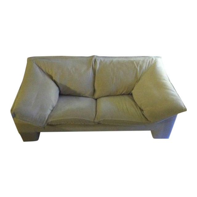N. Eilersen Danish Love Seat For Sale
