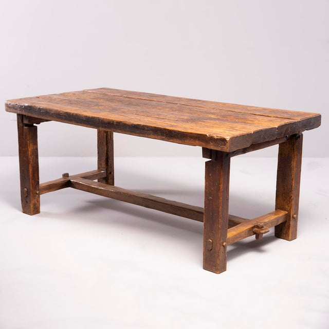 Early 19th Century Rustic Table For Sale - Image 13 of 13