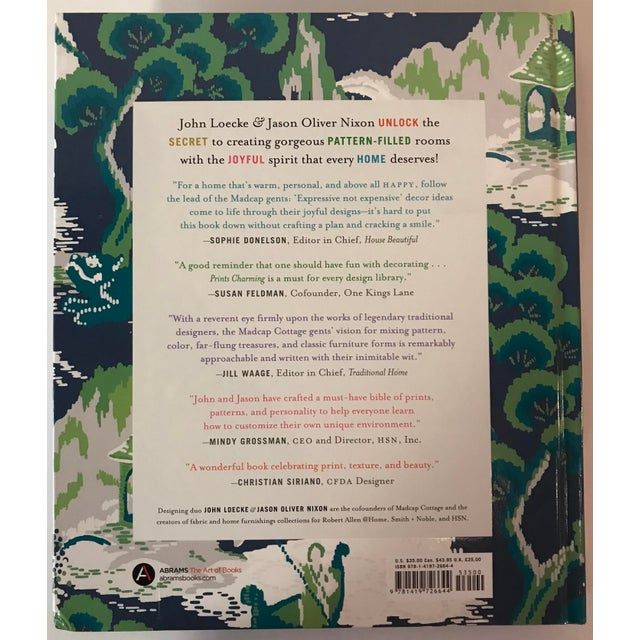 Blue Madcap Cottage Prints Charming Book For Sale