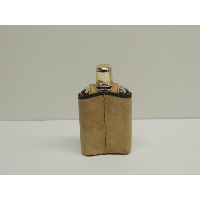 Vintage Traveling Glass Flask - Image 3 of 4