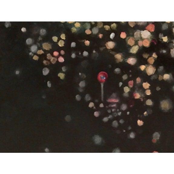 "Bryan Boomershine ""La Lights"" Oil Painting - Image 3 of 4"