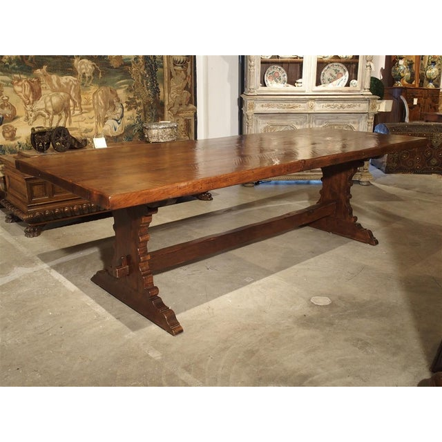 Antique Italy, 19th Century Oak Dining Table For Sale - Image 11 of 11