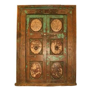 18th Century Eastern Asian Primitive Salvage Door For Sale
