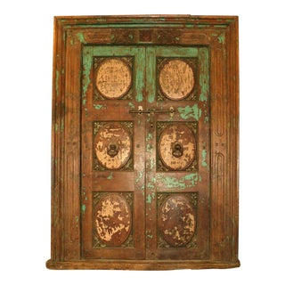18th Century Primitive Salvage Door For Sale