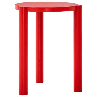 Wc3 Stool by Ash, Nyc in Red For Sale