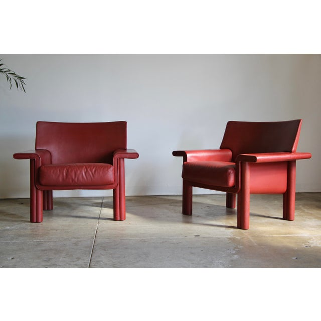 Afra & Tobia Scarpa Lounge Chairs - a Pair For Sale - Image 13 of 13