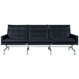 Poul Kjærholm PK31 Three-Seat Sofa by Fritz Hansen For Sale
