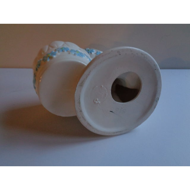 Mid 20th Century Mid-Century Ceramic Telephone Pencil Cup For Sale - Image 5 of 6