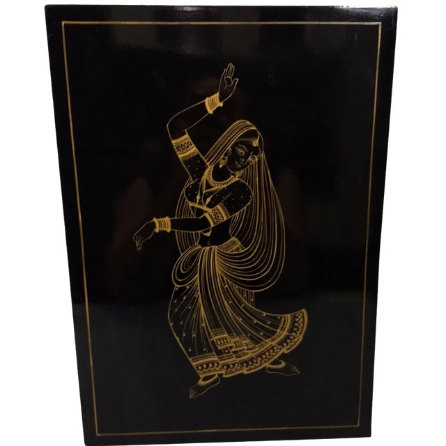 Vintage Hand-Painted Balinese Dancer - Image 1 of 10