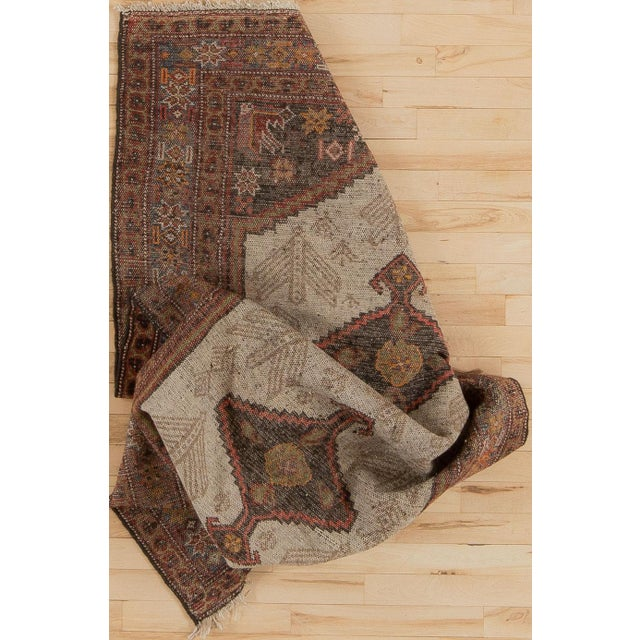 Early 20th Century Antique Malayer Village Rug - 3′6″ × 5′11″ For Sale - Image 4 of 8