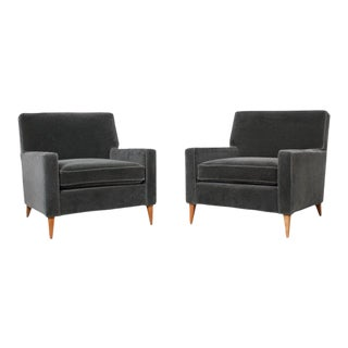 Pair of Paul McCobb for Custom Craft Lounge Chairs