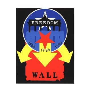 1997 Robert Indiana The Wall Serigraph