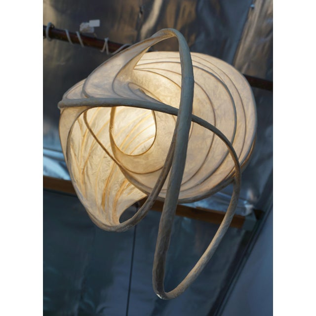 Asian 1980s William Leslie Pendant Lamp For Sale - Image 3 of 7