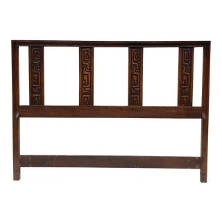 Mid-Century Modern Queen Size Headboard by United Furniture For Sale