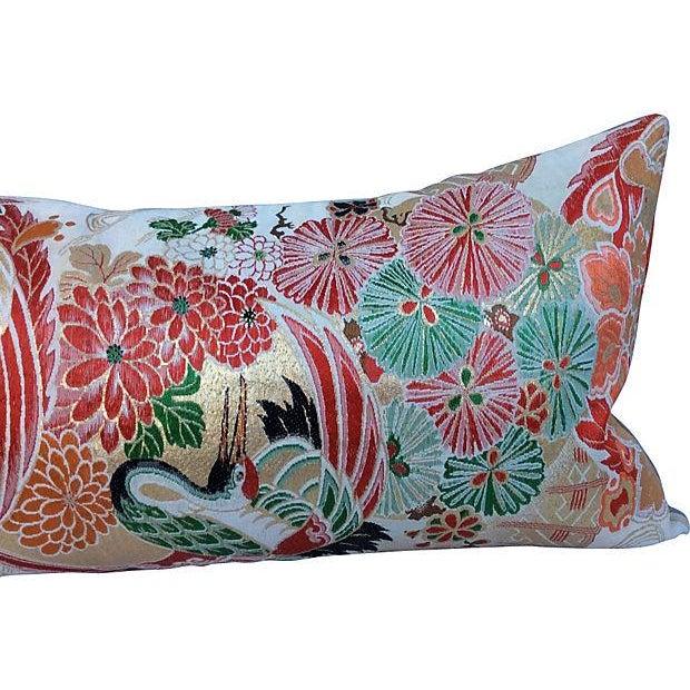 Japanese Obi Metallic Pillow - Image 5 of 5