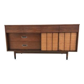 Mid-Century Walnut Dresser Mainline by Hooker For Sale