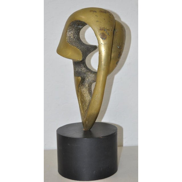 CB Johnson Mid Century Modern Bronze Sculpture c.1950s For Sale In San Francisco - Image 6 of 6