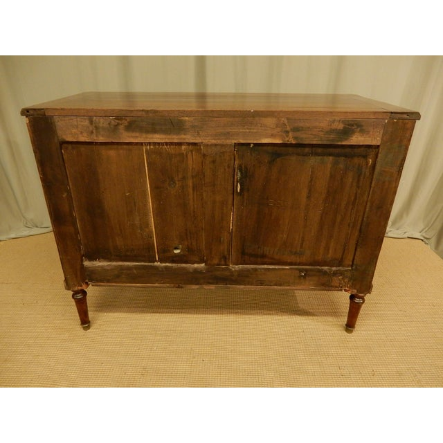19th C. French Louis XVI Style Commode For Sale - Image 9 of 11