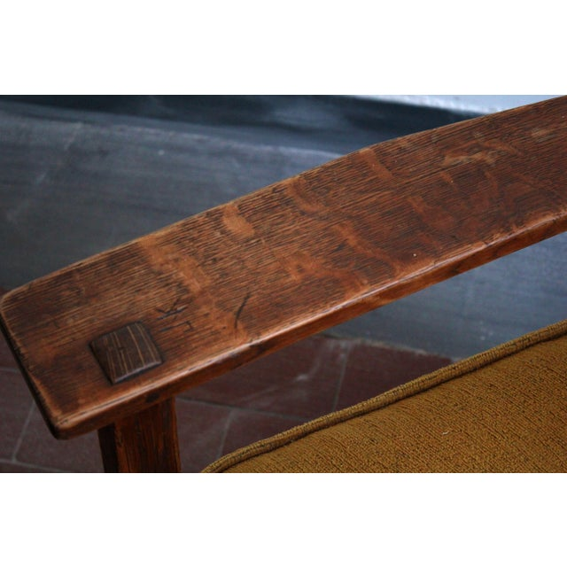 1900s Antique L & Jg Stickley Rocking Chair For Sale In Philadelphia - Image 6 of 12