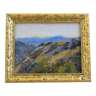 George Barker (1882-1965), Plein Air California Landscape Oil Painting