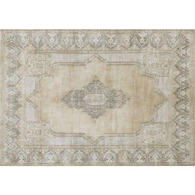 """Nalbandian - 1940s Persian Kerman Carpet - 10'2"""" X 14'5"""" For Sale - Image 4 of 4"""