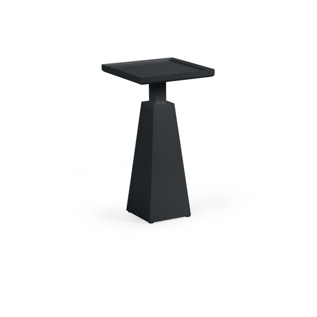 Transitional Casa Cosima Hayes Spot Table, Ebony King For Sale - Image 3 of 3