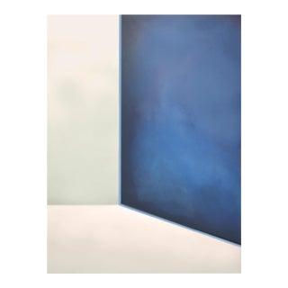 Abstract Ocean Door - Painting 30x40 For Sale