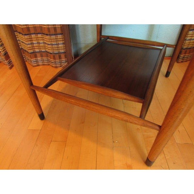 Mid-Century Modern Wood End Table - Image 4 of 8