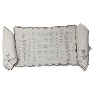 Irish Linen Napkins & Placemats, 16 Piece For Sale