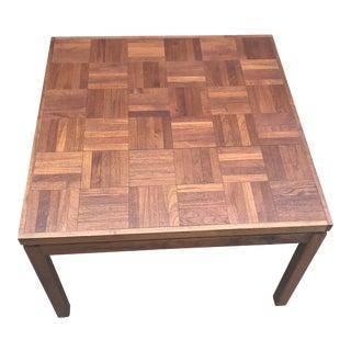 Danish Modern Rosewood & Teakwood Coffee Table For Sale